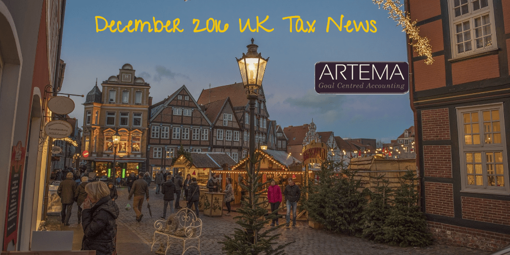 December 2016 UK Tax News